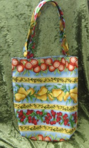 Fruit and veg market tote bag