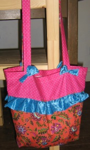 Pink n Orange n Blue Bag